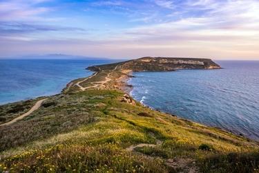 Fototapeta wąskie wybrzeże wchodzące do oceanu fp 1400