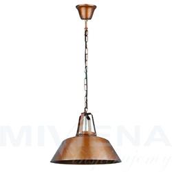Vibe lampa wisząca 1 metal miedź