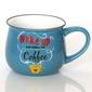 Kubek wake up coffee – wyjątkowe naczynie z uroczym nadrukiem, pomysłowy prezent podarunek na każdą okoliczność