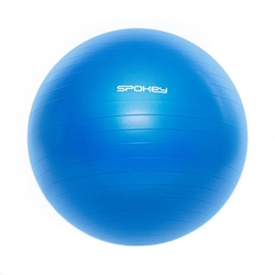 Piłka gimnastyczna fitball iii 75 cm niebieska - spokey