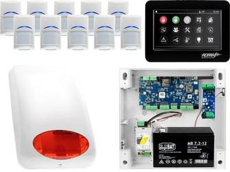 Zestaw alarmowy ropam neogsm-ip 10 x czujka bosch manipulator dotykowy tpr-4bs wifi gsm