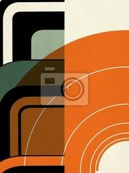 Obraz konstruktywizm ekspresyjny abstrakcyjny