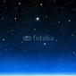 Obraz na płótnie canvas czteroczęściowy tetraptyk jasna gwiazda