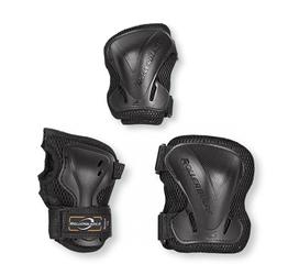 Ochraniacze rollerblade evo gear junior 3pack czarne