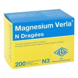 Magnesium verla n drażetki