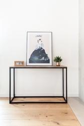Table4u ::  drewniana konsola trang 120x30x75  - kolor bursztyn