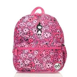 Plecak zipzoe junior - floral pink 5-9lat