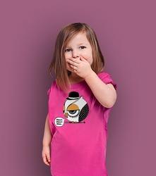 Clockwork t-shirt dziecięcy różowy 146