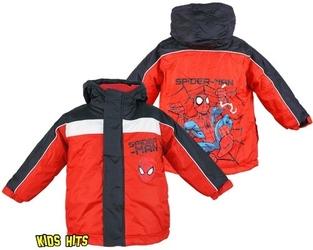 Kurtka zimowa spiderman spiders web czerw. 3 lata