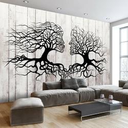 Fototapeta - pocałunek drzew