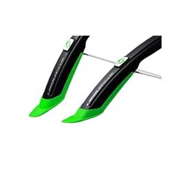 Błotnik simpla ubiquit sdl 45mm 28 kpl., kolor czarny-zielony
