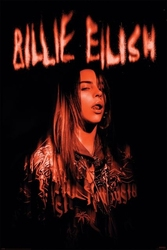 Billie eilish sparks - plakat