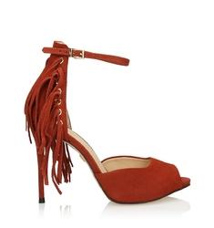 Miedziane sandały