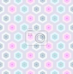 Fototapeta bez szwu retro wzór-2 o strukturze plastra miodu