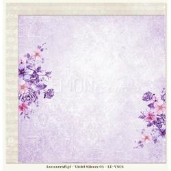 Papier do scrapbookingu Violet Silence 05 - 05