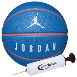 Piłka do koszykówki jordan playground 8p - j000186549507 + pompka