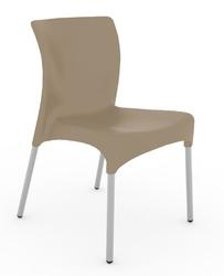 Krzesło moon - jasny brązowy