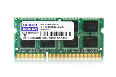 GOODRAM DDR3 SODIMM 4GB1333 CL9 2568 Dual Rank