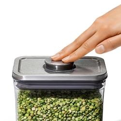 Pojemnik kuchenny 1 litr szczelny pop2 oxo stalowa pokrywka 3118400mlnyk