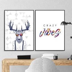 Zestaw dwóch plakatów - scandi madness , wymiary - 30cm x 40cm 2 sztuki, kolor ramki - biały