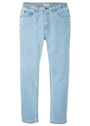 """Dżinsy z elastycznymi wstawkami w talii classic fit straight bonprix niebieski bleached"""""""