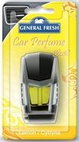 General fresh, car perfume vent, cytryna, odśweżacz samochodowy, 1 sztuka