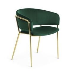 Krzesło ronso 73x58 cm zielone