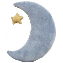 Meri meri – poduszka welurowa księżyc