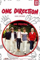 One Direction Walking - naklejka