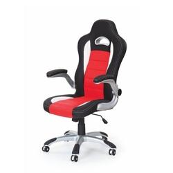 Lily fotel gamingowy dla graczy czarno-czerwony