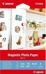Canon papier mg-101 4x6 5 3634c002
