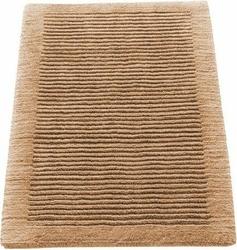 Dywanik łazienkowy Cawo ręcznie tkany 120 x 70 cm piaskowy