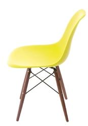 Krzesło p016w pp dark inspirowane dsw - żółty