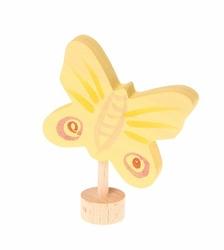 Drewniana figurka, Żółty Motyl, Grimms