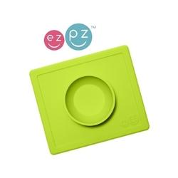Zielona miseczka z podkładką 2w1 happy bowl