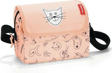 Torba dziecięca Everydaybag Cats and Dogs brzoskwiniowy