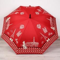 Parasol długi pa152 czerwony - czewrony