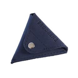 Granatowa skórzana bilonówka coin wallet brodrene cw01