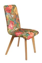 Krzesło  emily z drewnianymi nogami różne kolory