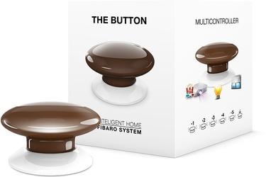 Fibaro the button   przycisk brązowy  - możliwość montażu - zadzwoń: 34 333 57 04 - 37 sklepów w całej polsce