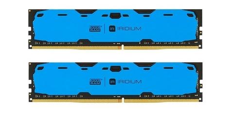 GOODRAM DDR4 IRIDIUM 16GB2400 28GB10248 Niebieska