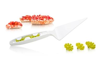 Łopatka do ciast z podziałką Tomorrows Kitchen biała