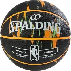 Piłka do koszykówki spalding nba marble usa outdoor + pompka do piłek air jordan essential