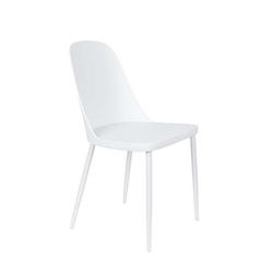 Orange line krzesło do jadalni pip białe 1100431