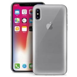 PURO Plasma Cover - Etui iPhone X przezroczysty