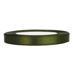 Tasiemka satynowa 6mm 32m - zielona - ziel