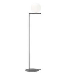 Flos :: lampa podłogowa ic f1 - wys. 135 cm - czerń