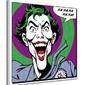 Joker quote - obraz na płótnie