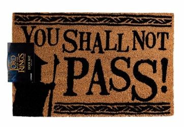 Władca Pierścieni You Shall Not Pass - wycieraczka z filmu
