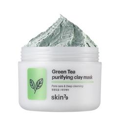 Skin79  peelingująca maska oczyszczająca green tea purifying clay mask  - 100 ml